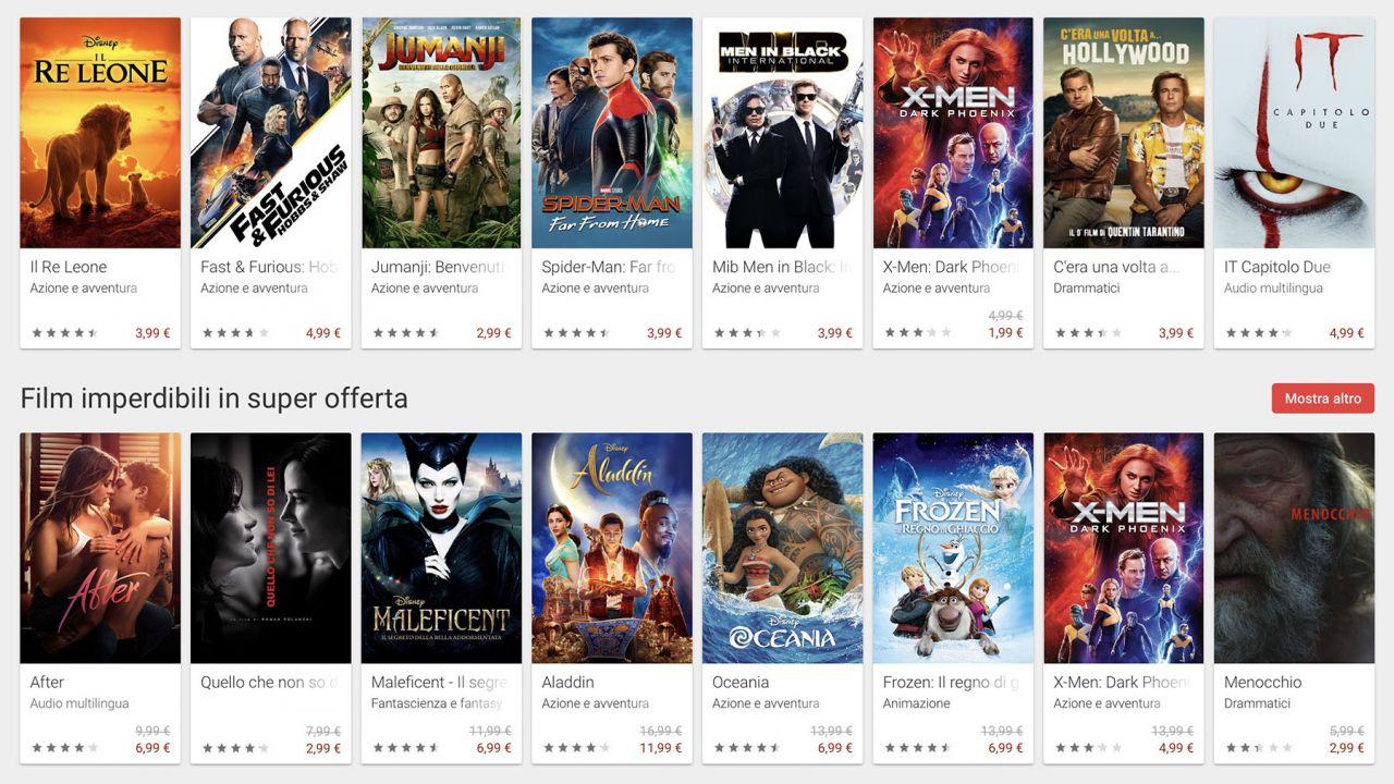 speciale Google Play Film: così la Grande G sfida Apple sul noleggio e l'acquisto