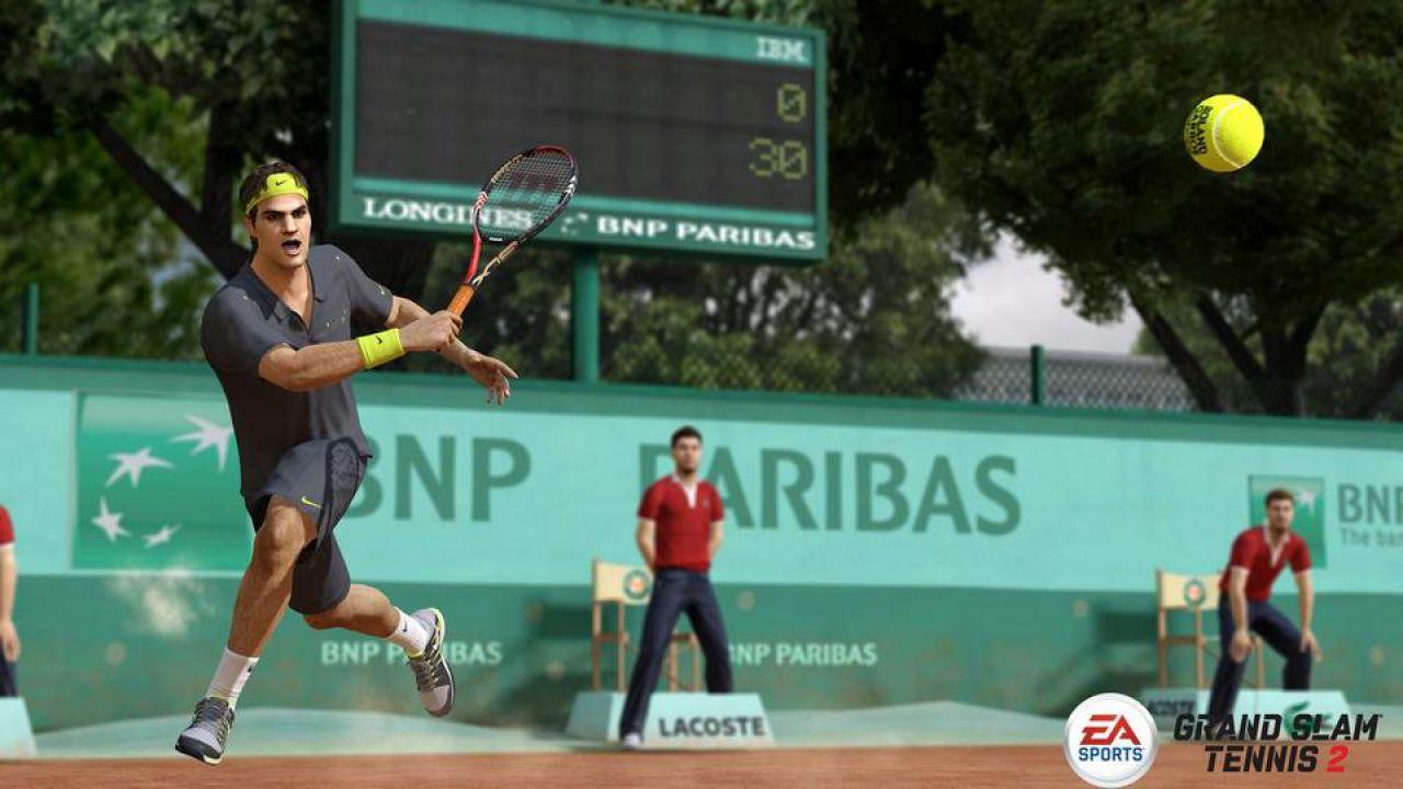 hands on Grand Slam Tennis 2
