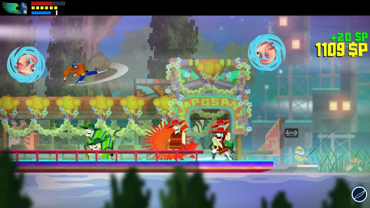 hands on Guacamelee