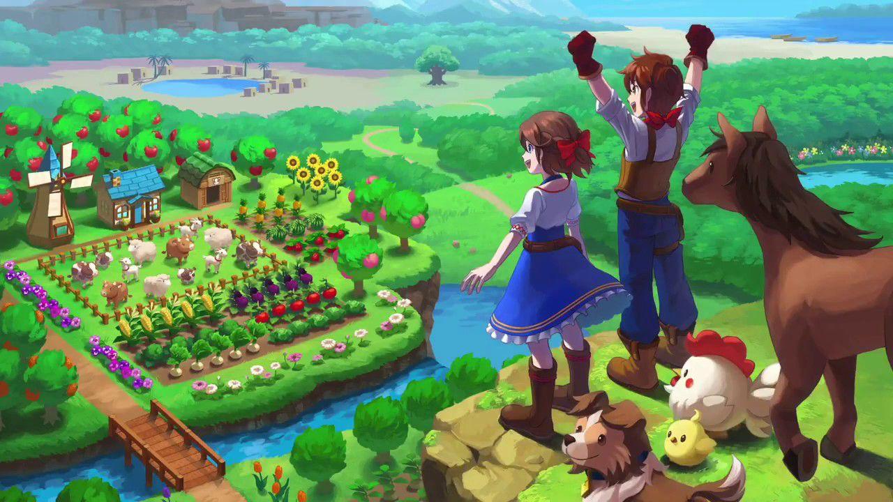 anteprima Harvest Moon One World: una nuova fattoria da gestire su Nintendo Switch