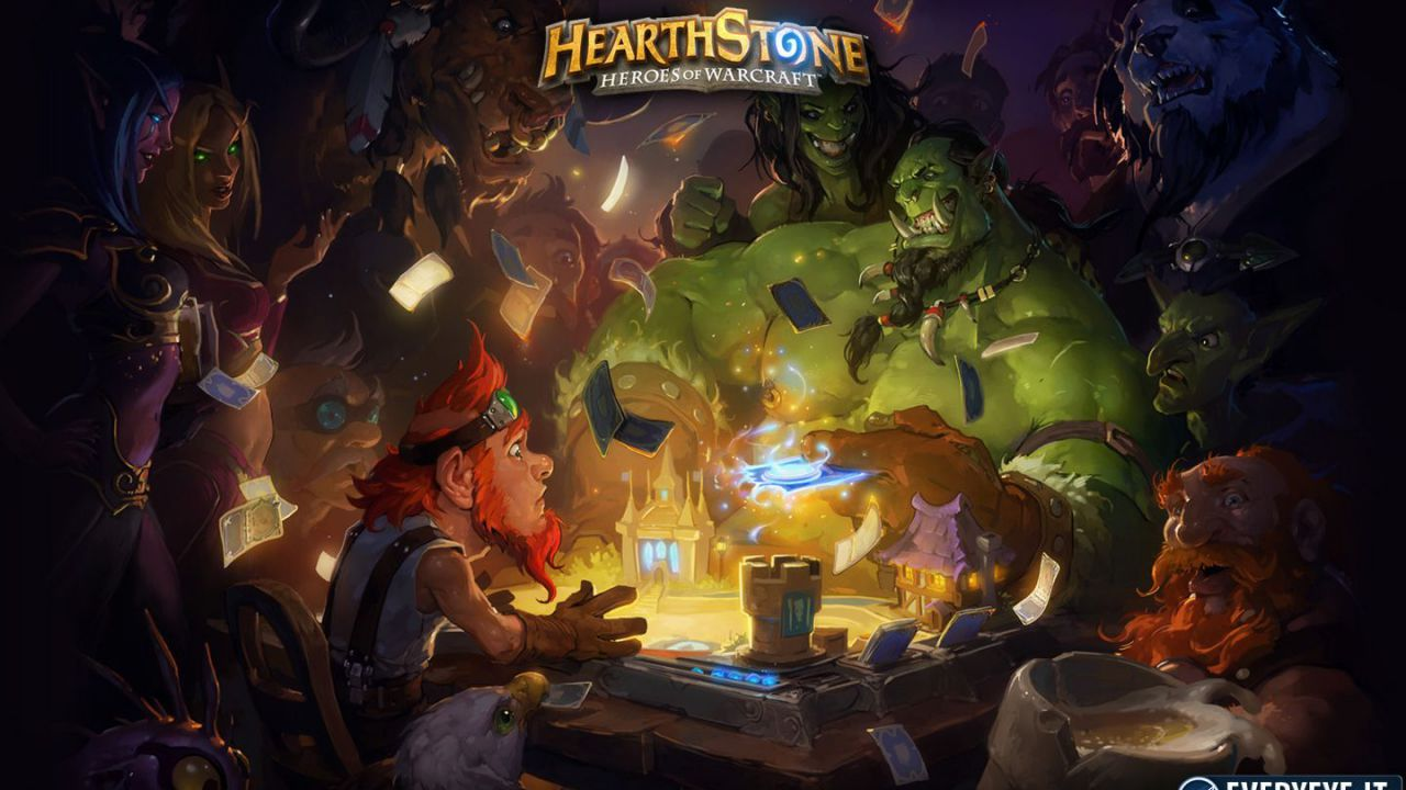 hands on Hearthstone: Heroes of Warcraft