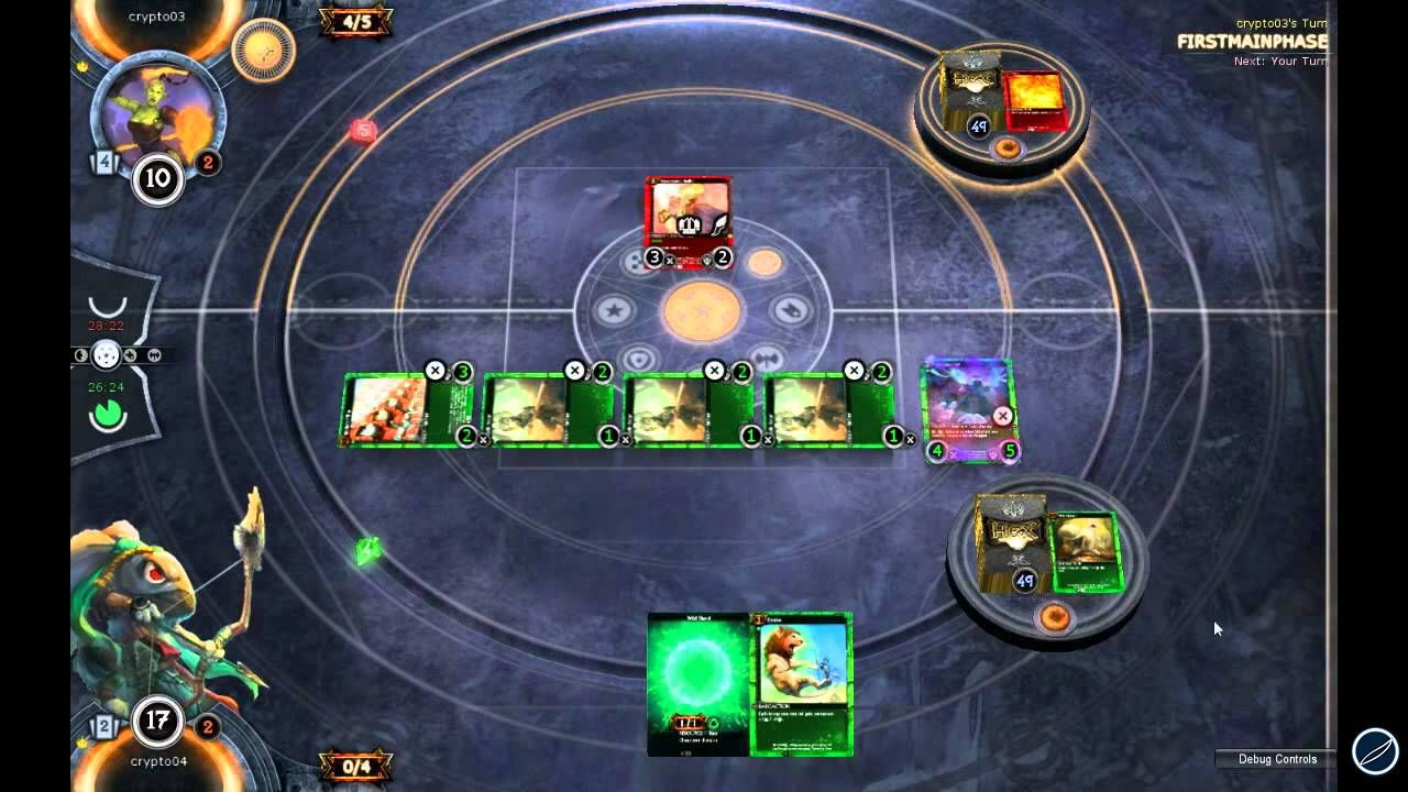 hands on Hex: Shards of Fate