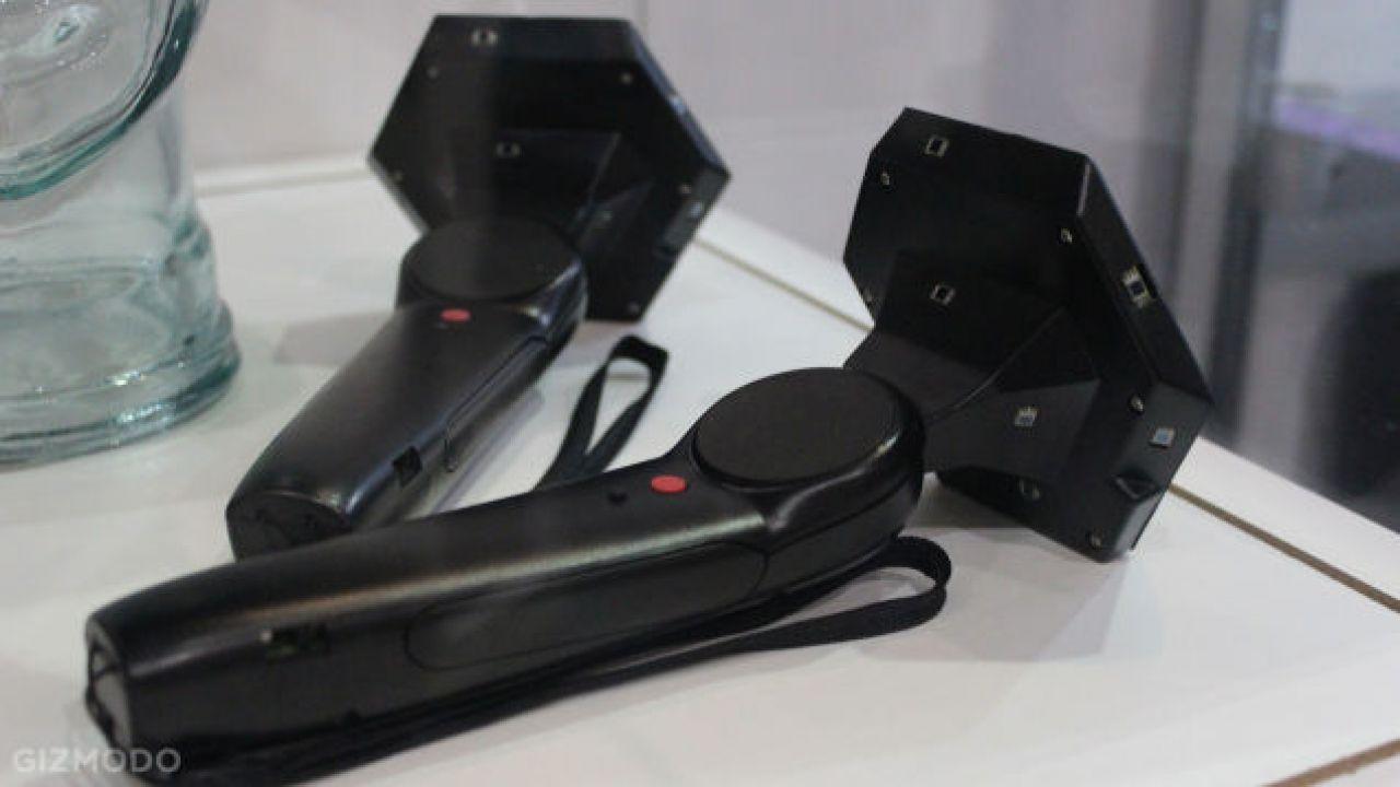 Anteprima HTC Vive e Grip