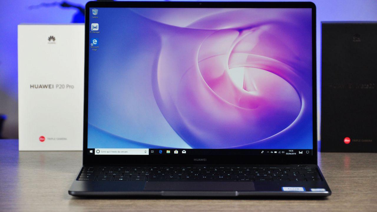 Huawei Matebook 13 Recensione: un portatile pensato per la produttività