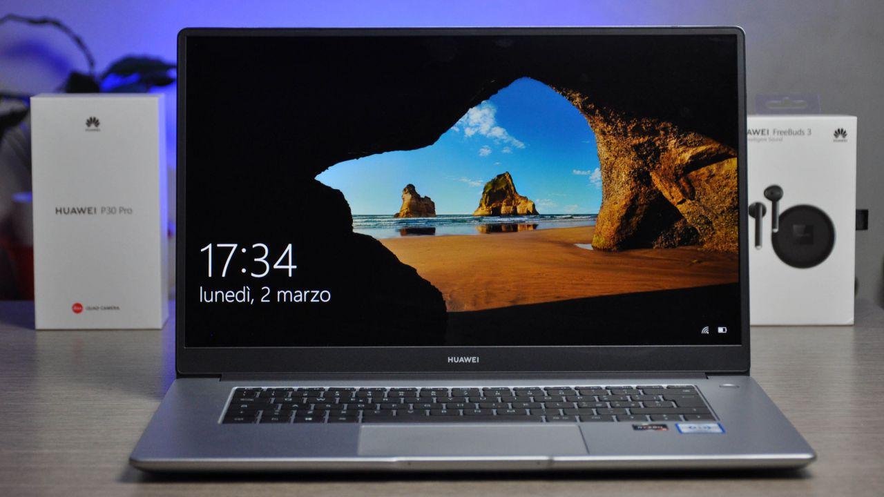 Huawei Matebook D15 Recensione: un portatile tuttofare al giusto prezzo