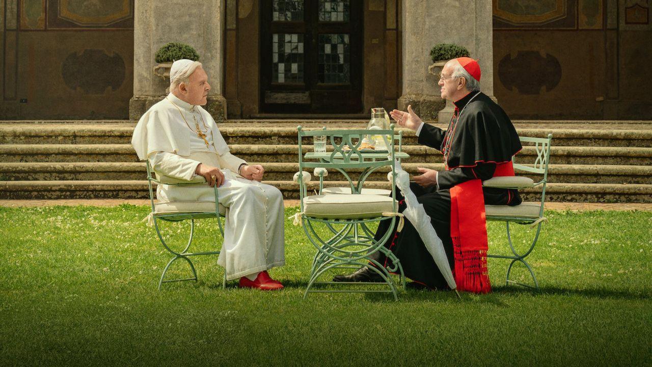 recensione I Due Papi, la recensione del film con Anthony Hopkins e Jonathan Pryce
