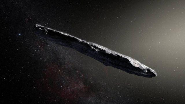 Il primo asteroide interstellare avvistato ha una forma davvero curiosa