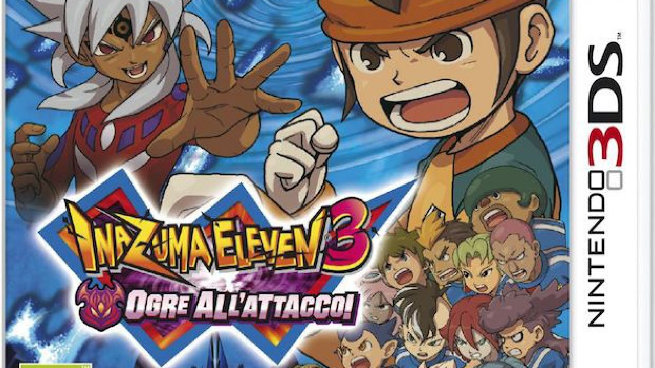hands on Inazuma Eleven 3