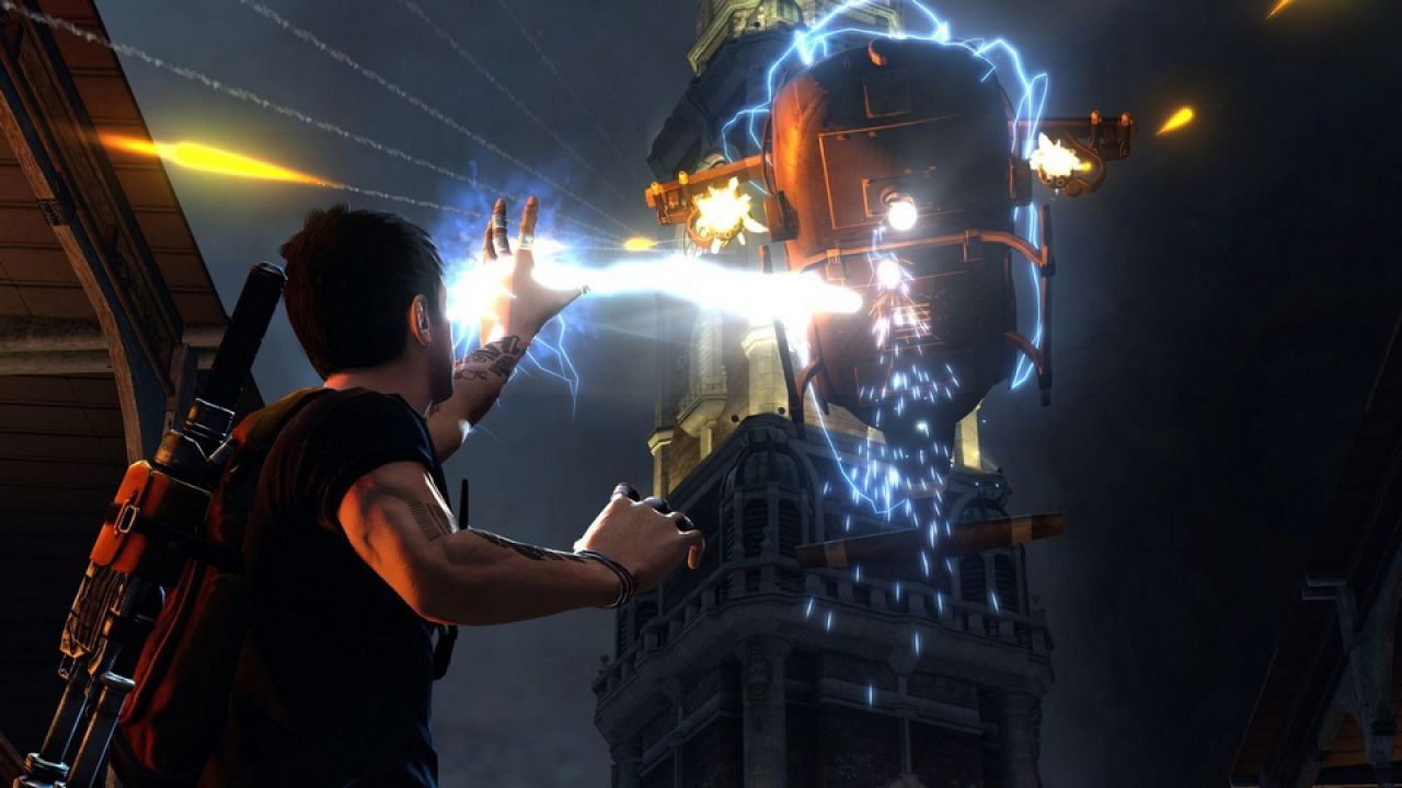hands on inFAMOUS 2