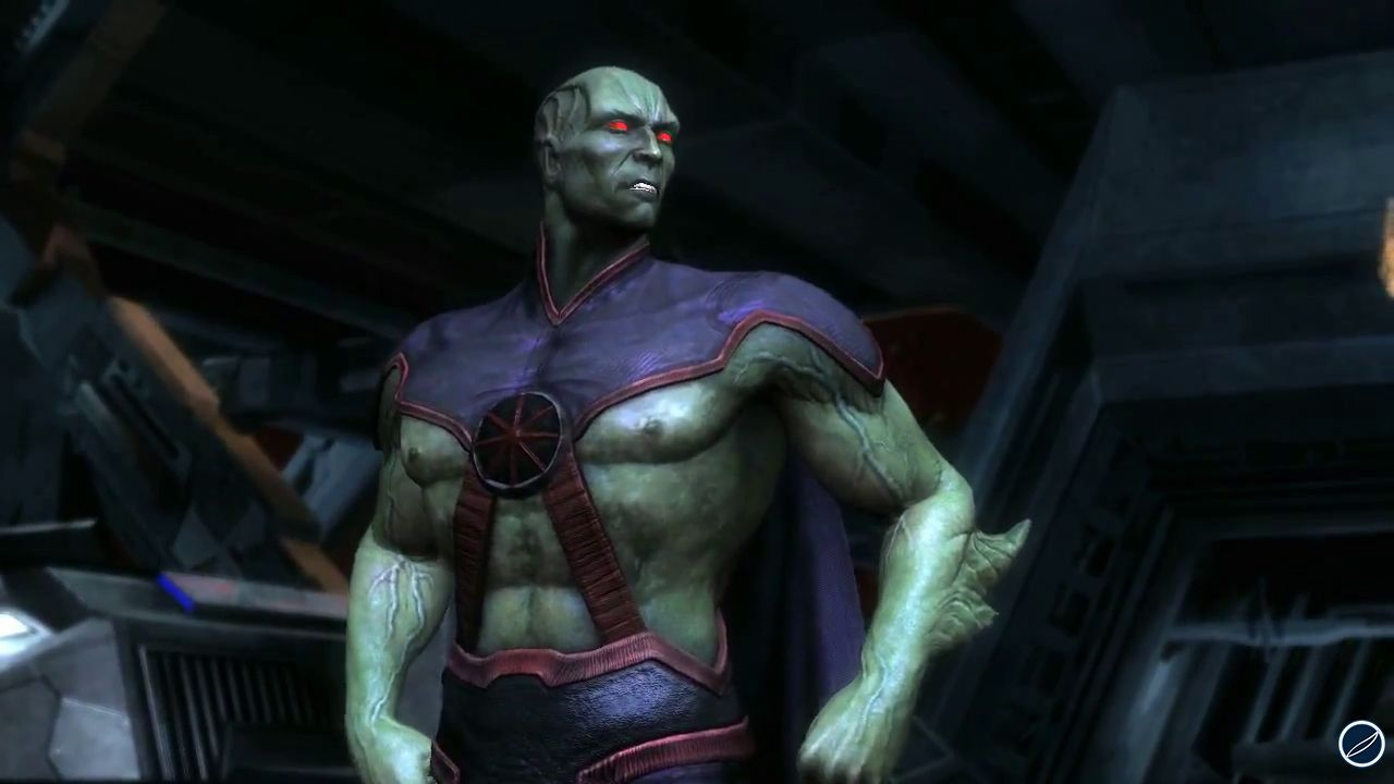 hands on Injustice: Gods Among Us