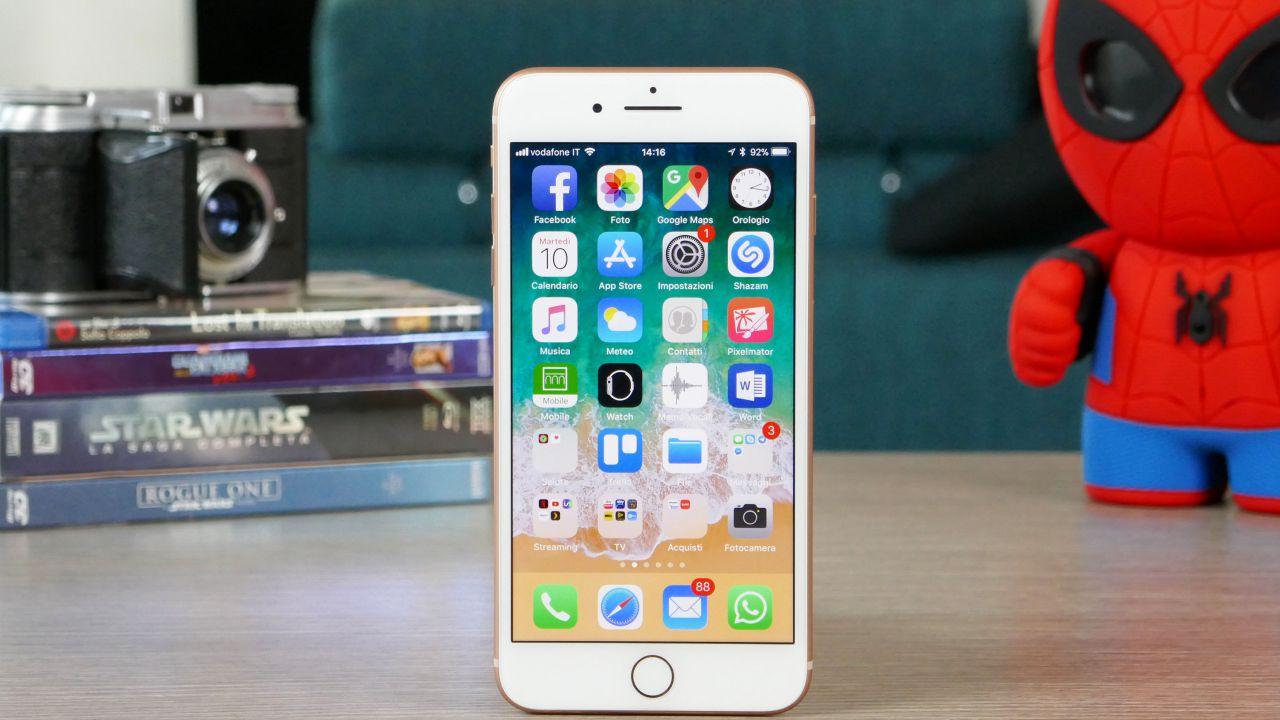 recensione iPhone 8 Plus Recensione: un classico che non passa mai di moda