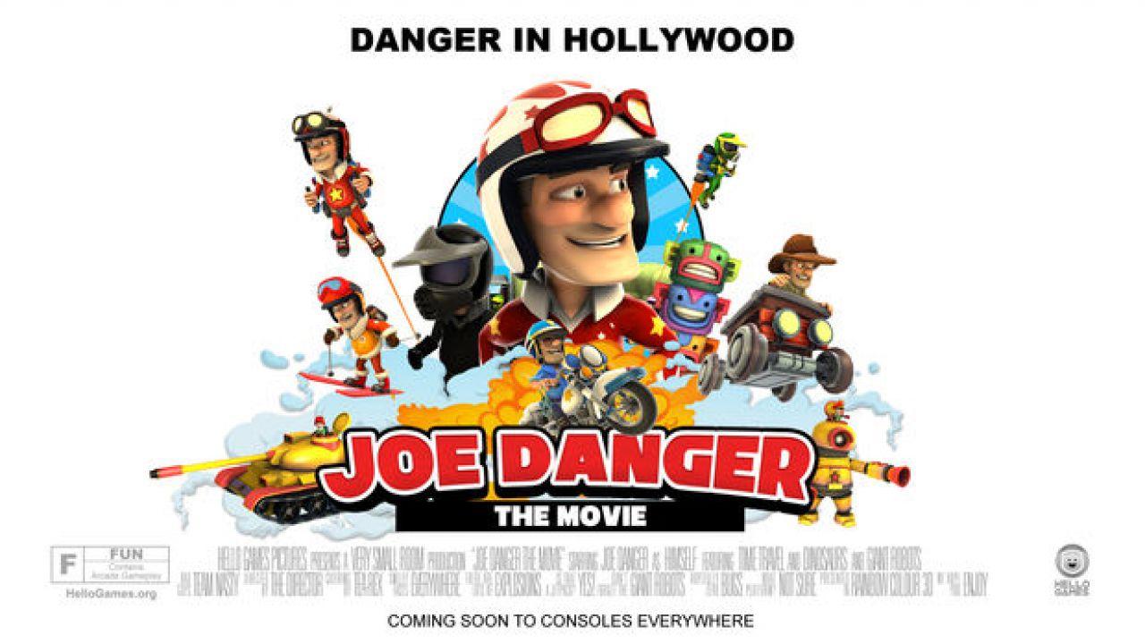 hands on Joe Danger the Movie