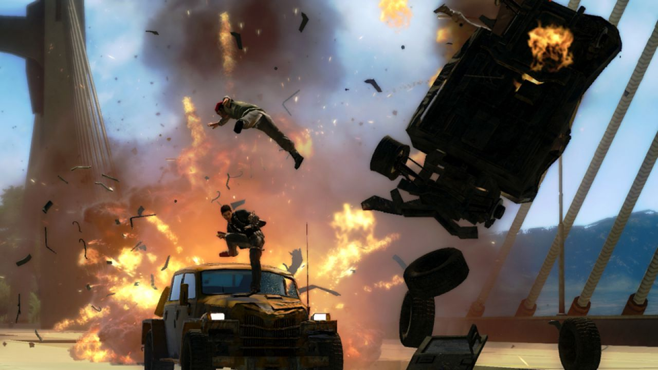 hands on Just Cause 2