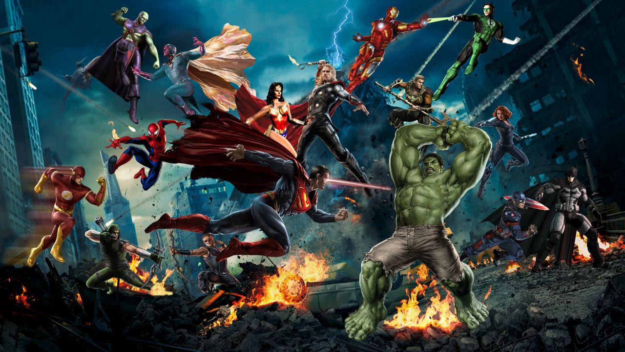Justice League VS The Avengers: Marvel e DC ancora una contro l'altra