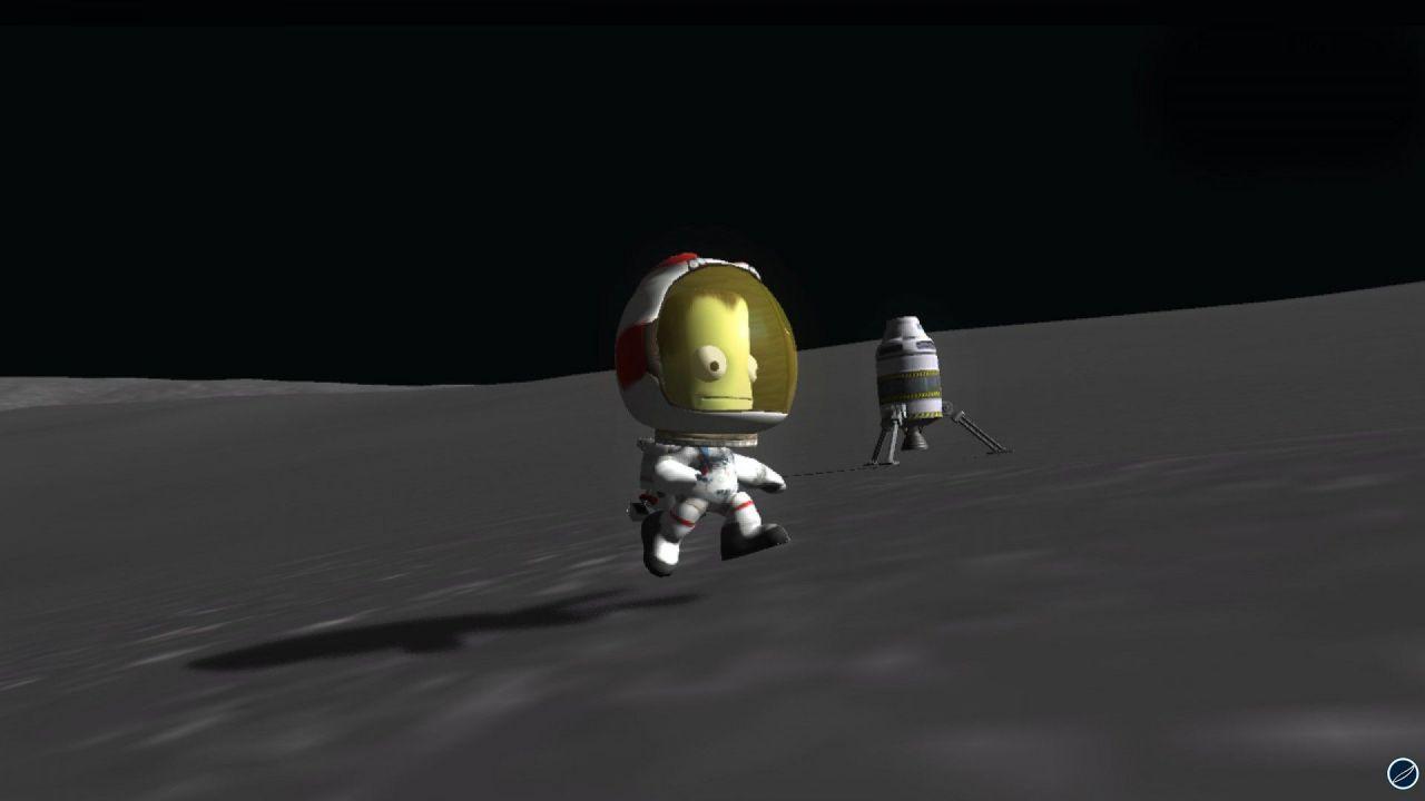 hands on Kerbal Space Program