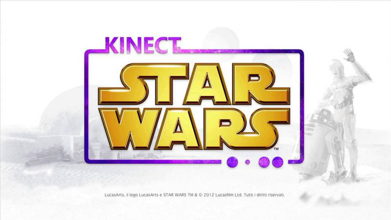 hands on Kinect Star Wars