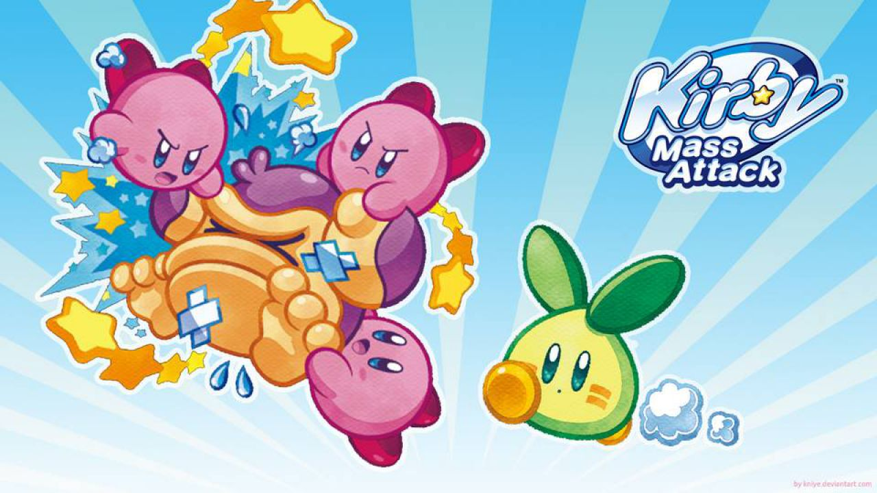 hands on Kirby Mass Attack
