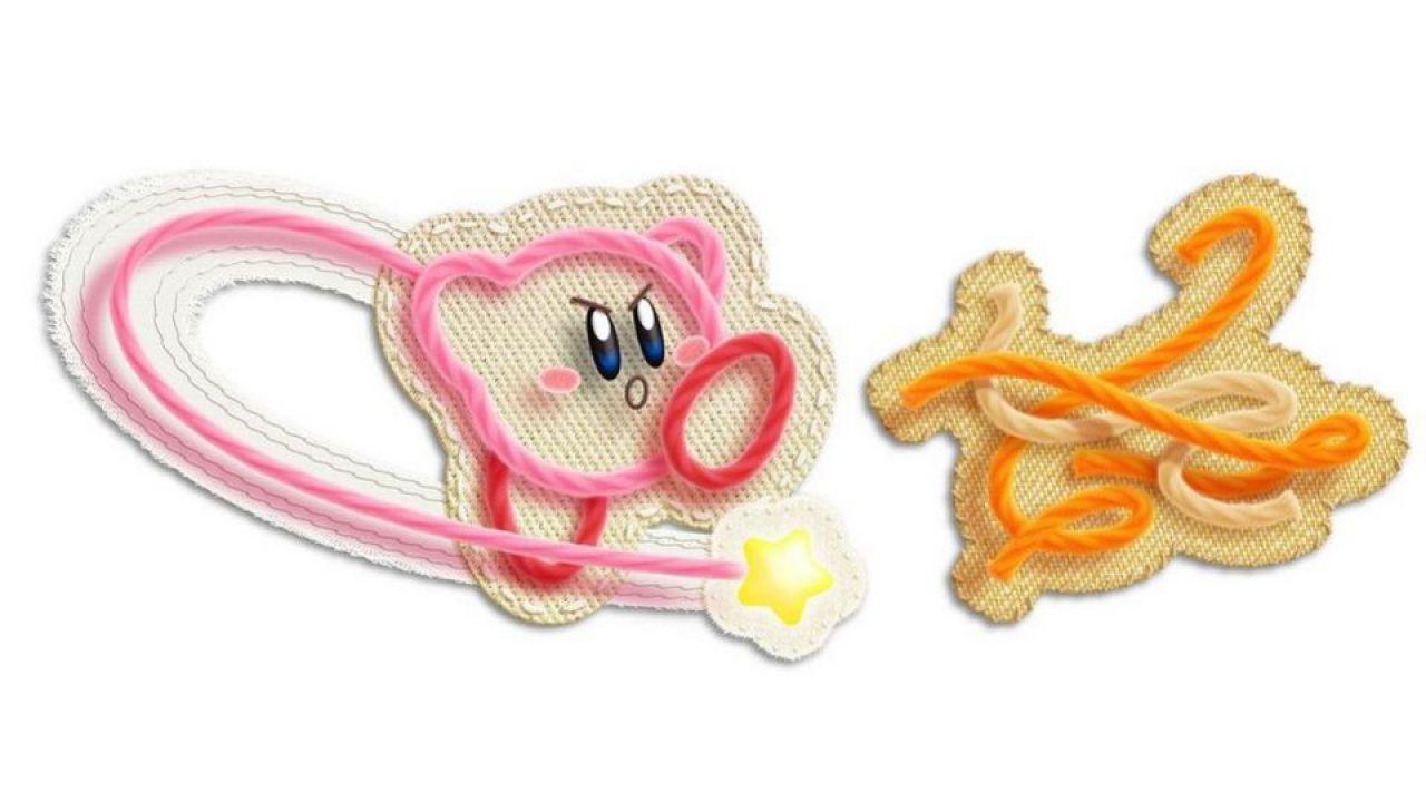 hands on Kirby's Epic Yarn