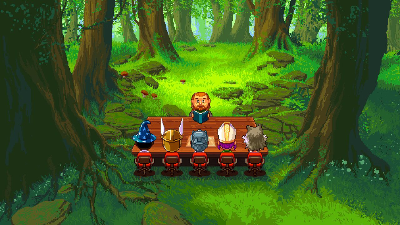 recensione Knights of Pen & Paper 2