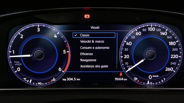 L'Active Info Display alla prova sulla Volkswagen Golf 2018