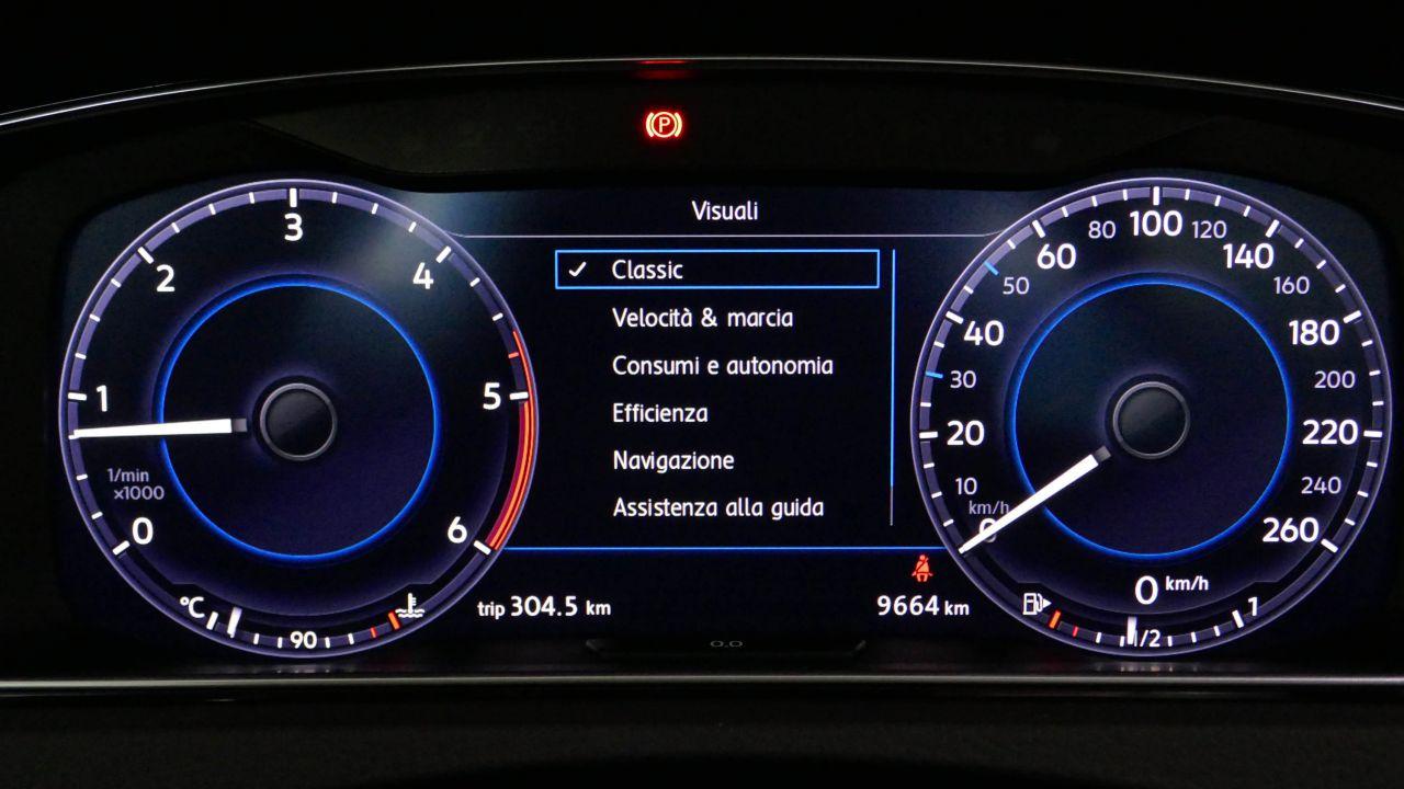 provato L'Active Info Display alla prova sulla Volkswagen Golf 2018