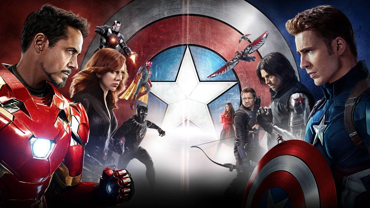 La storia dei Vendicatori, Avengers contro in Captain America: Civil War