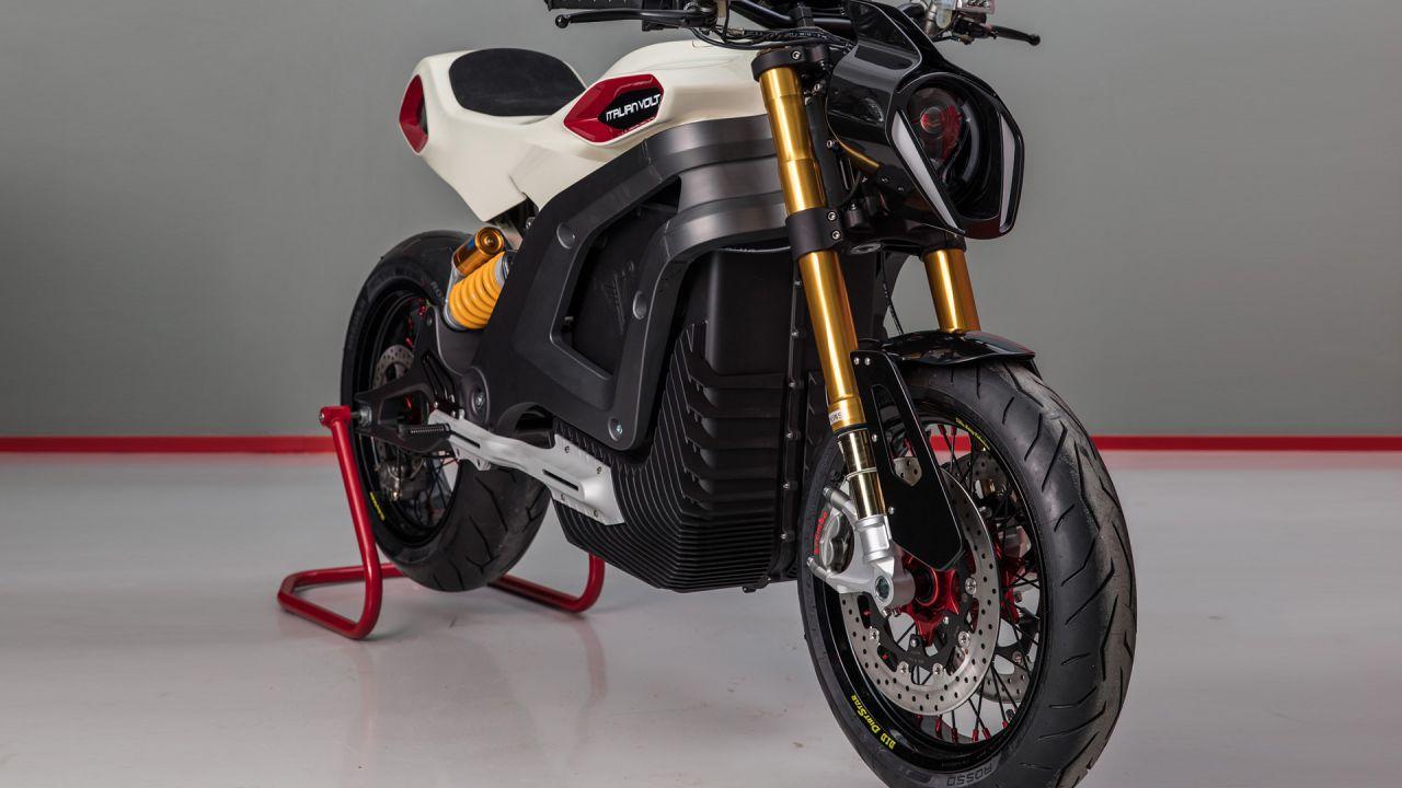 Lacama, la moto elettrica custom Made in Italy con componenti stampati in 3D