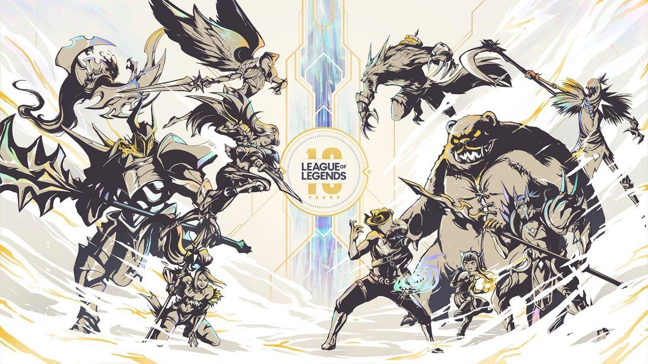 speciale League of Legends compie 10 anni: tutte le novità svelate da Riot Games