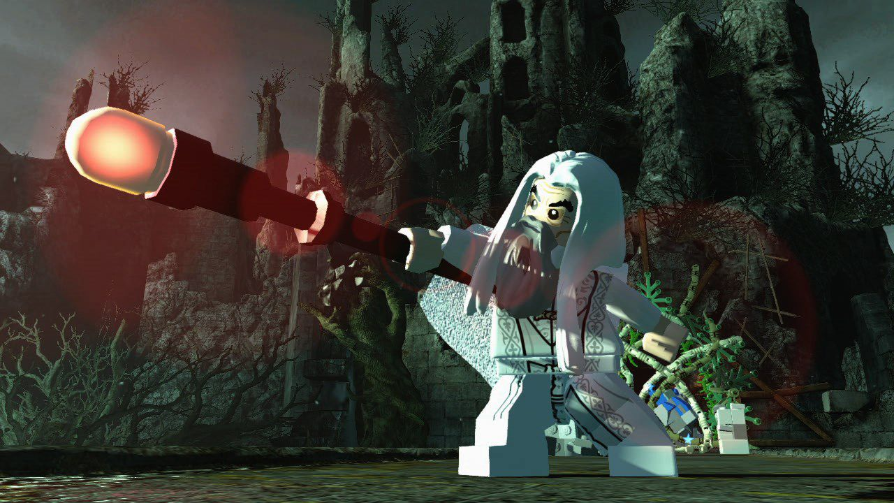 hands on LEGO Lo Hobbit