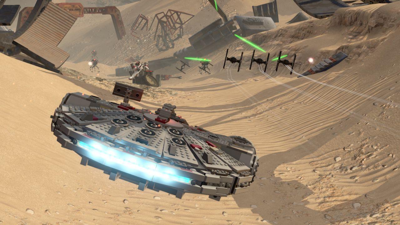 anteprima LEGO Star Wars: Il Risveglio della Forza