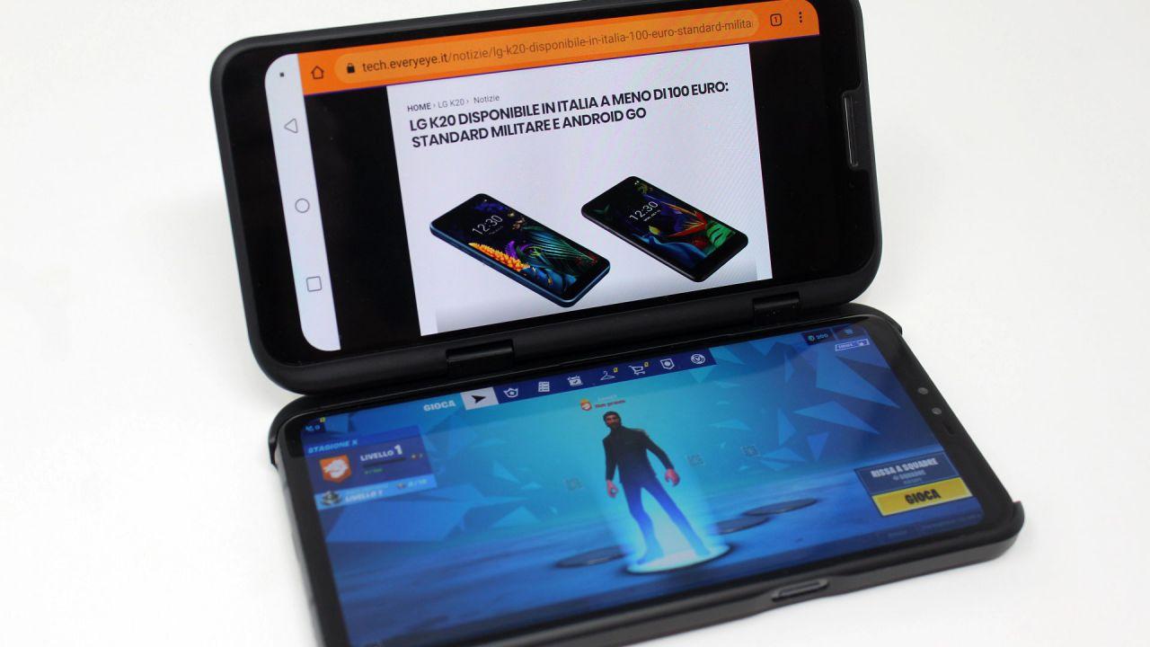 recensione LG V50 ThinQ 5G Recensione: l'innovazione passa per il doppio schermo