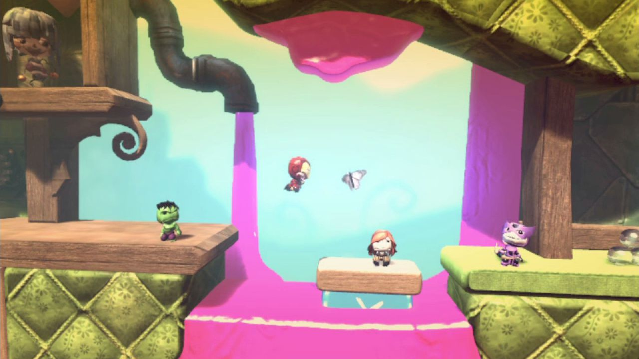 hands on Little Big Planet
