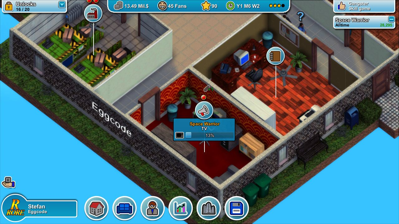 provato Mad Games Tycoon