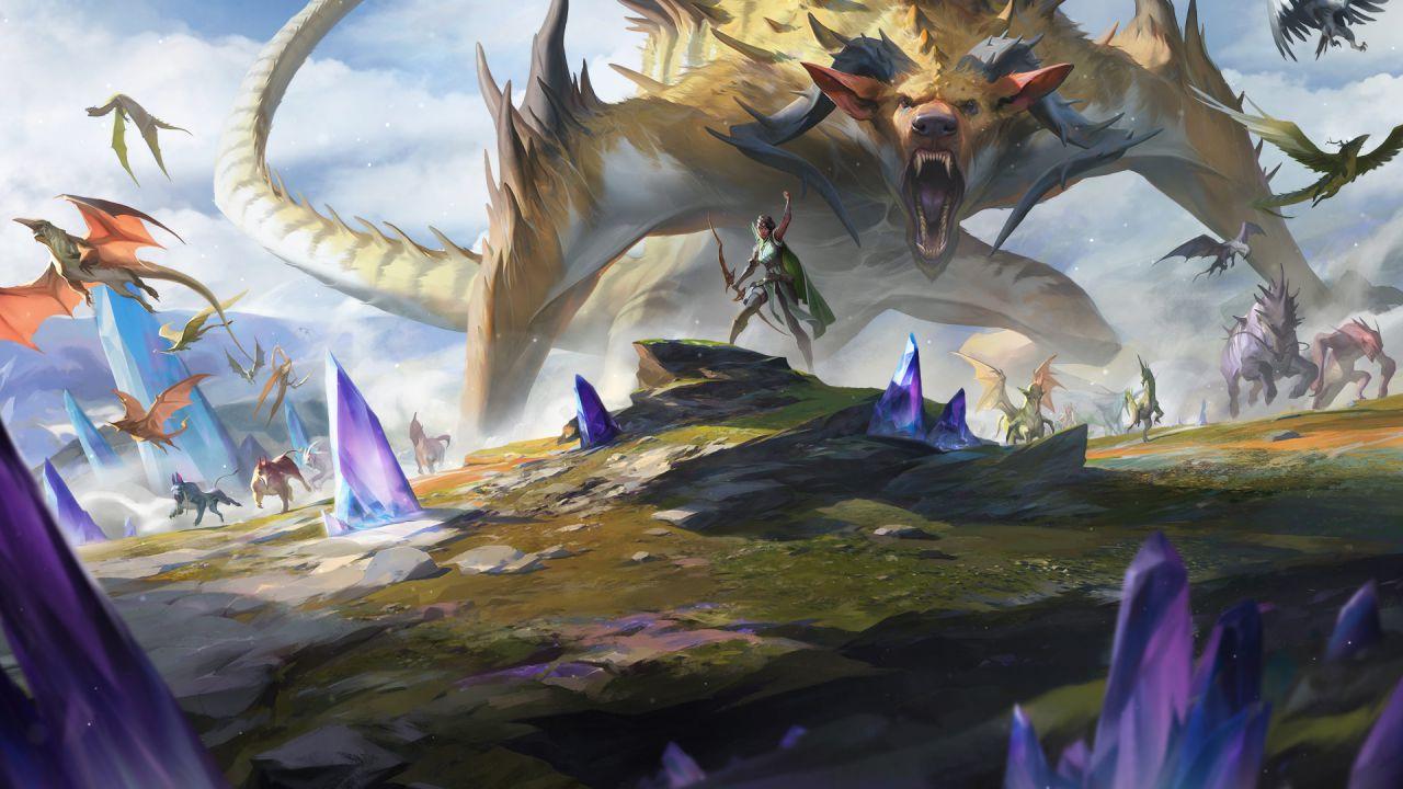speciale Magic The Gathering: scopriamo Scontro Tra Titani, la nuova carta di Ikoria