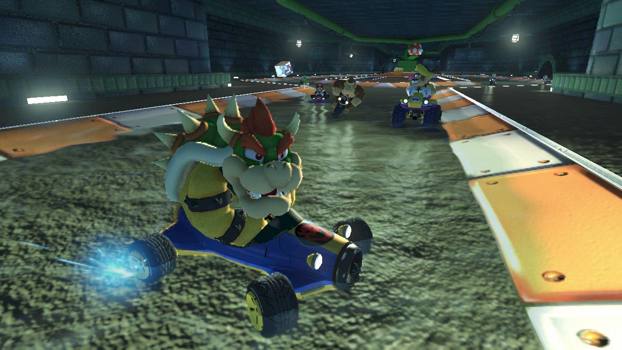 hands on Mario Kart 8