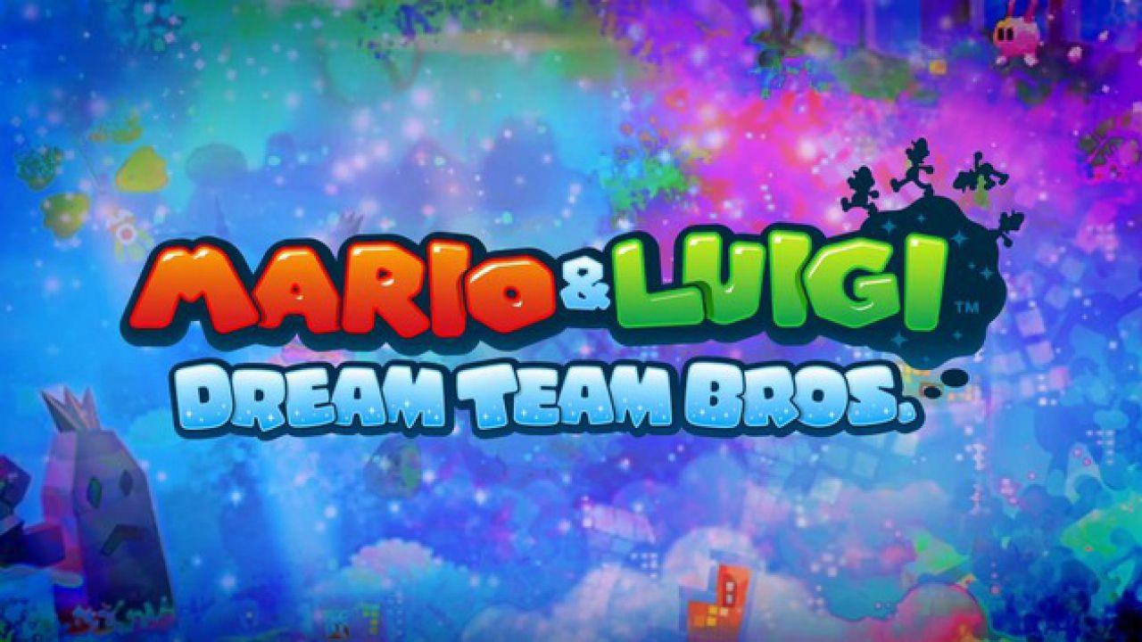 hands on Mario & Luigi Dream Team Bros.