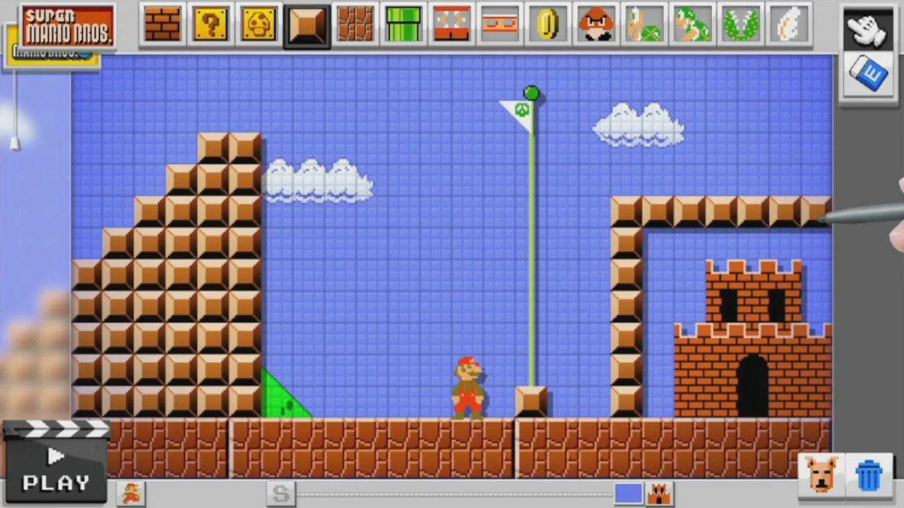 hands on Mario Maker