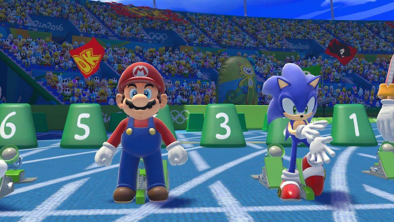 provato Mario & Sonic alle Olimpiadi di Rio 2016
