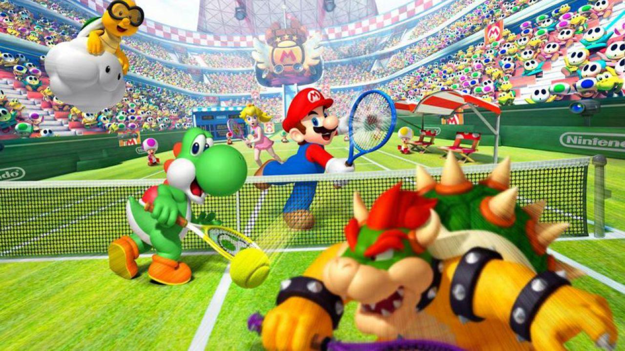 hands on Mario Tennis Open