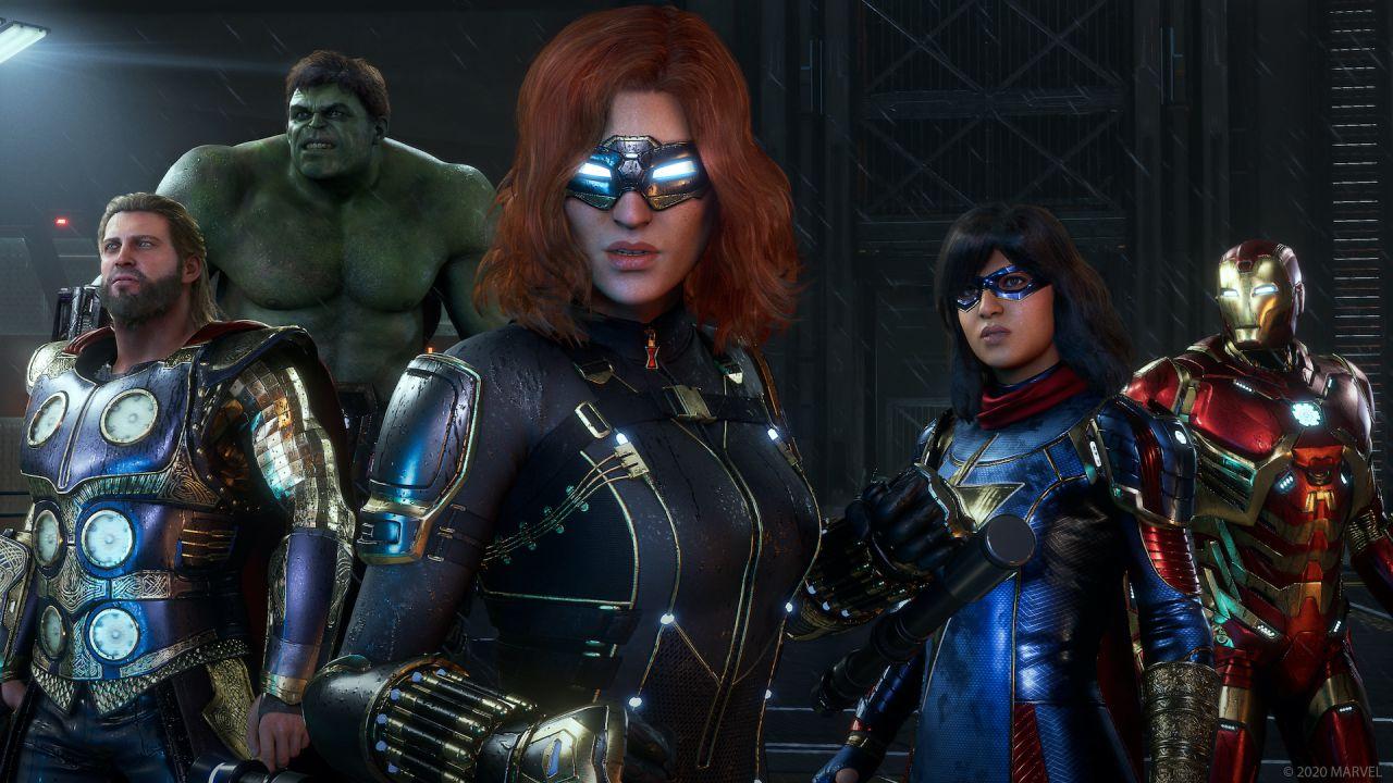 intervista Marvel's Avengers: alla scoperta dei vendicatori di Crystal Dynamics