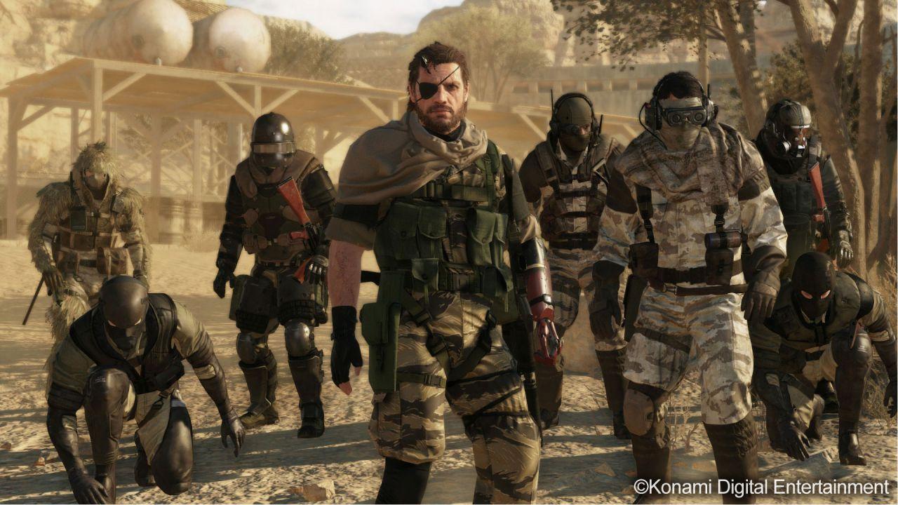 anteprima Metal Gear Online