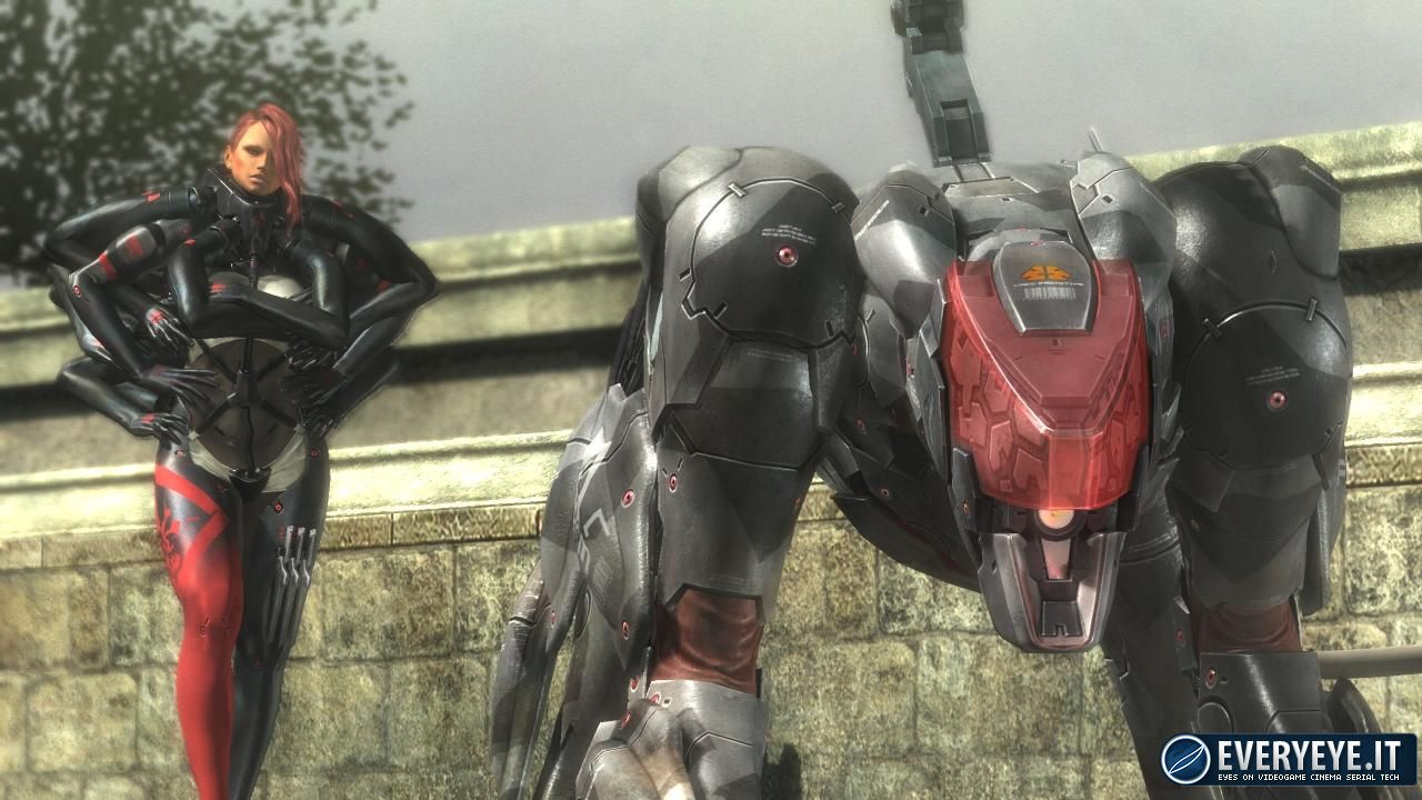 hands on Metal Gear Rising: Revengeance