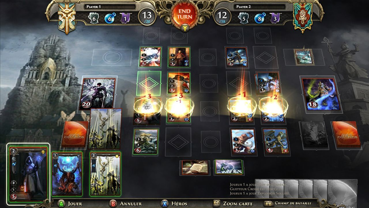recensione Might & Magic Duel of Champions Forgotten Wars