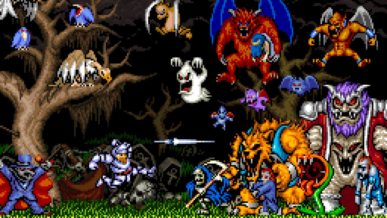 Image results for ghouls n ghosts
