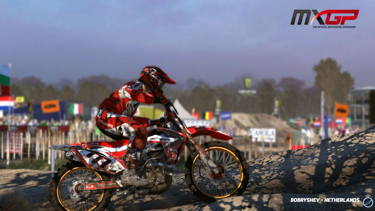 hands on MXGP - The Official Motocross Videogame