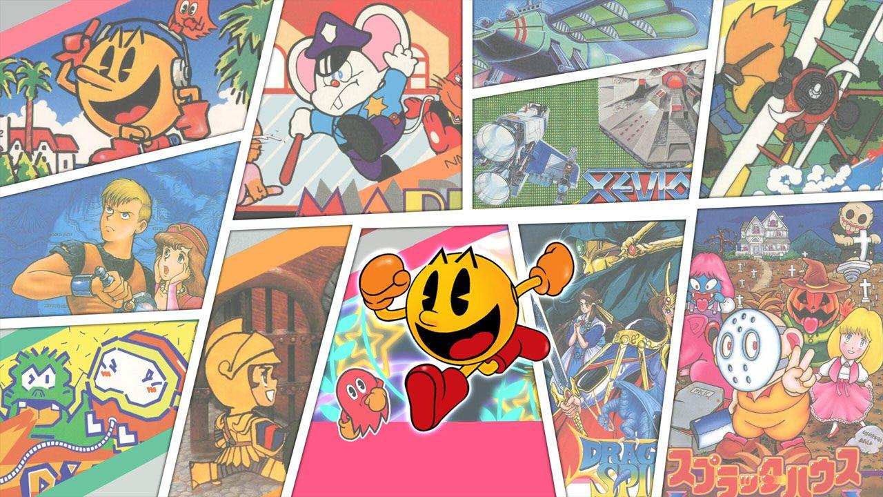 Namco Museum Archives: da Pac-Man a Dig Dug, tornano i grandi classici