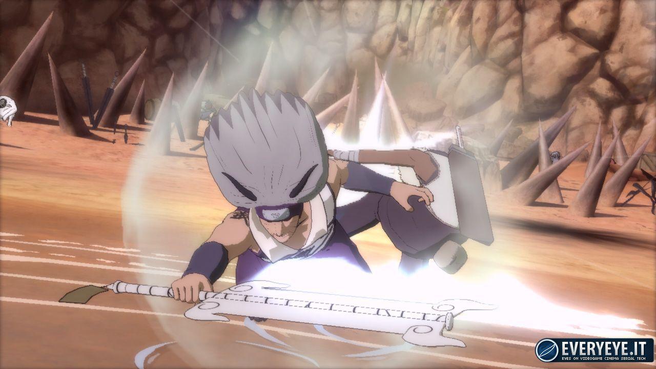 hands on Naruto Shippuden: Ultimate Ninja Storm 3