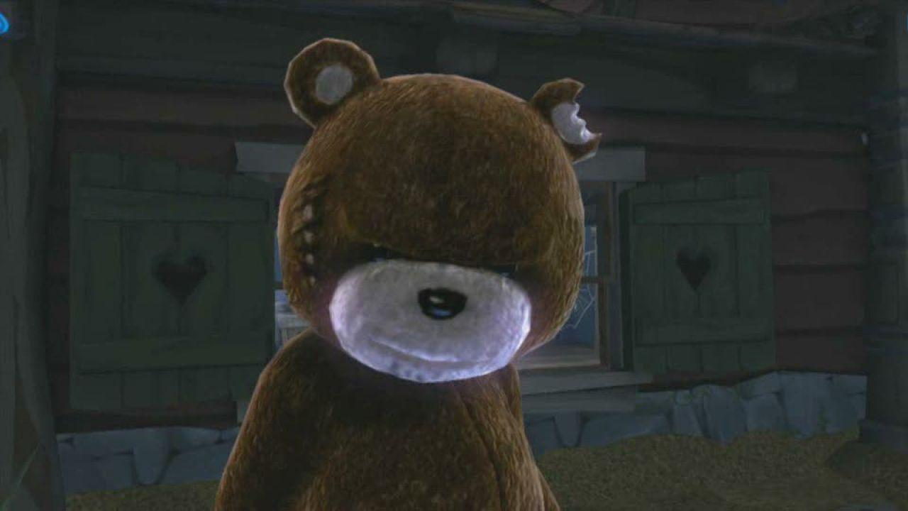 hands on Naughty Bear