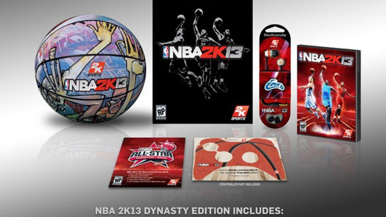 anteprima NBA 2K13