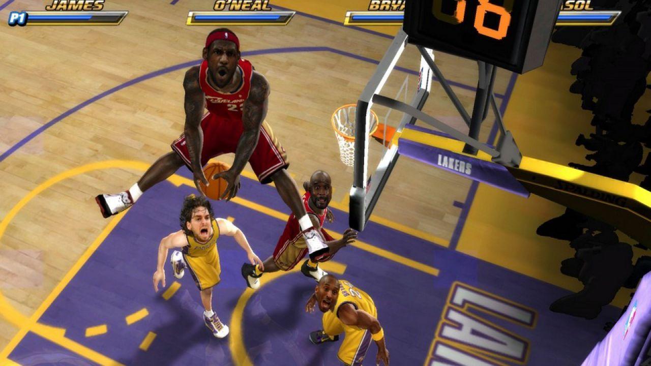 hands on NBA Jam